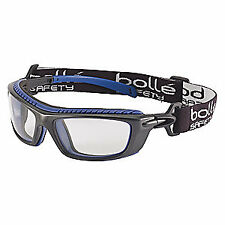 BOLLE SAFETY Safety Goggles,Clear Lens,Polycarbonate, 40276