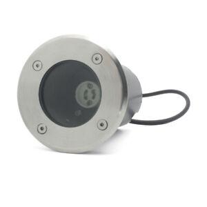 Bodeneinbaustrahler Bodenleuchte LED Gartenstrahler Außen GU10 ohne Leuchtmittel