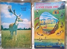 Country Landowners GAME FAIR  catalogues  Welbeck 1980 ,  Tatton Park 1982 .