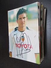 55315 xisco muñoz fc valencia original autografiada autografiada foto