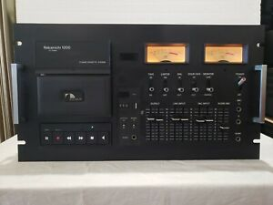 Vintage Nakamichi 1000 3-Head Cassette System (no cover). Works well!