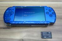 Sony PSP 3000 Console Vibrant Blue w/4GB Memory Stick Japan K592