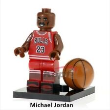 G3 - Michael Jordan - 23 Chicago BULL NBA - Nuovo Minifigures Custom Simil LEGO