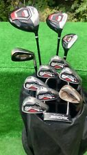 Mens RH Wilson ProStaff HDX Ping TaylorMade White Smoke Full Golf Clubs Set ⛳️
