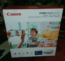 Canon - PIXMA TS6320 Color All-In-One Inkjet Printer - White NEW UNOPENED
