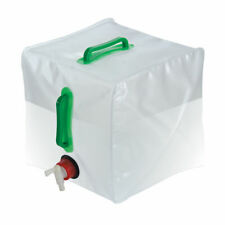 Collapsible PVC Water Camping Gardening Fluid Container + TAP Large 20 Litre