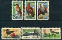 Tschechoslowakei MiNr. 1568-73 postfrisch MNH Vögel (Vög891