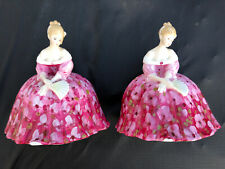 """Two Royal Doulton """"Victoria� Figurines Hn 2471 Stunning ~ Mint Condition ~ 1972"""