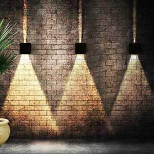 12W LED Wandleuchte Innen Wandspot Fassadenlampe Strahler UP-Down-Leuchte Garten