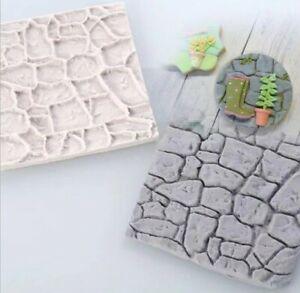 Vintage Wall Cake Fondant Mold Decorating Sugarcraft Silicone Border Icing Mould