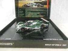 Minichamps 436 021308 Bentley EXP Speed 8 Le Mans 24 hrs 2002 Wallace/Leitzinger