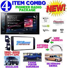 95-02 GM TRUCK/SUV DVD CD NAVIGATION BLUETOOTH DOUBLE DIN CAR STEREO RADIO