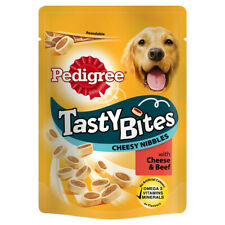 PTD Pedigree C&t Tasty Bites Cheesy Nibbles 140g (Pack of 8)