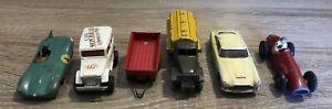 Lot 6 Solido Dinky Toys Majorette FJ anciens en l'état pour pièces