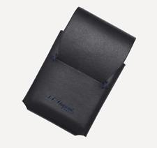 NEW ST Dupont Line D Ligne 2 Slim Leather Lighter Case - Black 184004