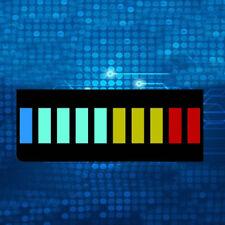 5 Pcsset New 10 Segment Led Bargraph Light Display Red Yellow Green Bluj