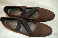 """Arche  LN Brown Suede Wedges Shoes Size 38 Made in France """"Excellent"""""""