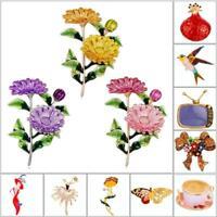 Frauen Blume Daisy Brosche Kleidung Rucksack Pins Emaille Corsage Hochzeiten