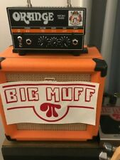 ELECTRO HARMONIX BIG MUFF PI FUZZ PEDAL VINYL DECAL STICKER