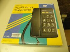 Big-Button Telephone w/ Hold Button New RadioShack Rt-205
