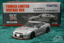 [TOMICA LIMITED VINTAGE NEO LV-N100b 1/64] NISSAN GT-R NISMO (Silver)