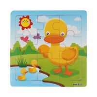 Wooden Duck Jigsaw Toys For Kids Education And Learning Puzzles Toys