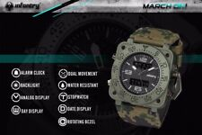 INFANTRY Mens Quartz-watches Military Army Digital Sport Watches In Camouflage