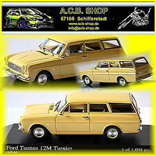 Ford Taunus P4 12M Turnier 1962-66 gelb yellow 1:43 Minichamps