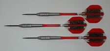 POWERGLIDE 80% Tungsten 28 Grams Fixed Point Steel Darts - Front Knurled Grip #6