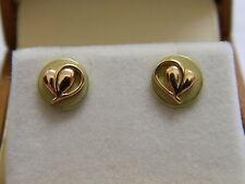 Clogau 18ct Welsh Gold Tree of Life Ivy Leaf Stud Earrings