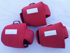 3 CUSTOM REEL COVER SIZE LN FOR ACCURATE 600N AVET HX MC SHIMANO TN40 RED