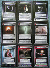 Star Trek CCG Alternate Universe Complete Common Card Set (40 Cards)