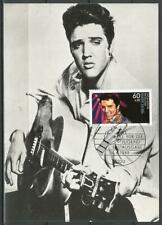 Germany Maximum Card 1988 Rock and Pop Music Elvis Presley