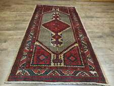 C1930 Vedy Antique Karache Heriz Serapi Viss 3.9x7.1 Estate Sale Rug