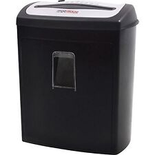 Sealed New InfoGuard 8-Sheet Cross-Cut Paper Shredder with Pullout Bin NX80P