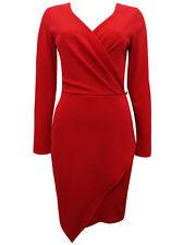 MISS Selfridge RED Asymmetric Wrap Size 6 to 18
