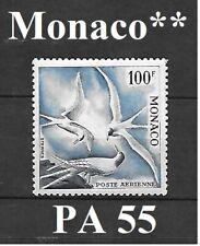 Timbre de MONACO  Poste aérienne PA 55 **