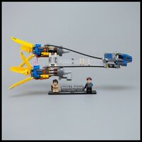 Acrylic Display Stand for LEGO Star Wars Anakins Podracer – 20th Anniversary (75