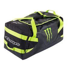 Reisetasche Alpinestars Monster Spacewarp Duffel Bag BLACK GREEN/YELLOW 125 L
