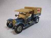 AE825 MATCHBOX LESNEY CROSSLEY RAF TENDER Ref Y13 WW1 1918 1/43