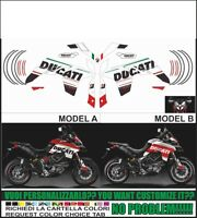kit adesivi stickers compatibili  MULTISTRADA 950 2017 2018 TRIBUTE