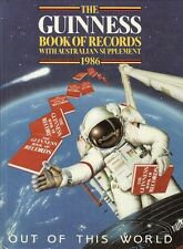 THE GUINNESS BOOK OF RECORDS - 1986 with Australian Supplement