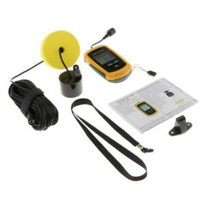 Portable Wired Fish Finder Transducer 45-degree Beam Angle, Removable Float