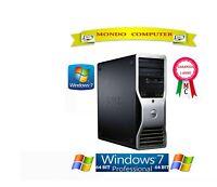 COMPUTER DELL PRECISION T5500/INTEL XEON QUAD CORE E5620/8 GB RAM/WINDOWS 7 PRO