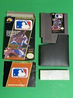 🔥 ORIGINAL NINTENDO NES 🔥 100% COMPLETE IN BOX 🔥 MLB MAJOR LEAGUE BASEBALL