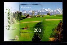 SWITZERLAND Emmental Region MNH souvenir sheet