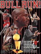 Bull Run: The Story of the 1995-96 Chicaco Bulls, The Greatest Team in-ExLibrary