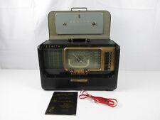 Zenith H500 Super Trans-Oceanic Wavemagnet Shortwave Radio (For Parts or Repair)