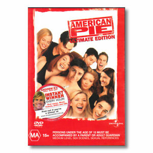 American Pie Ultimate Edition DVD Comedy Funny Hilarious   NEW Sealed Free Post