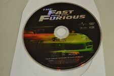 The Fast and the Furious (DVD, 2002)Widescreen Disc Only Free Shipping 12-173